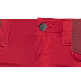 Lundhags Makke Spodnie Kobiety, red/dark red